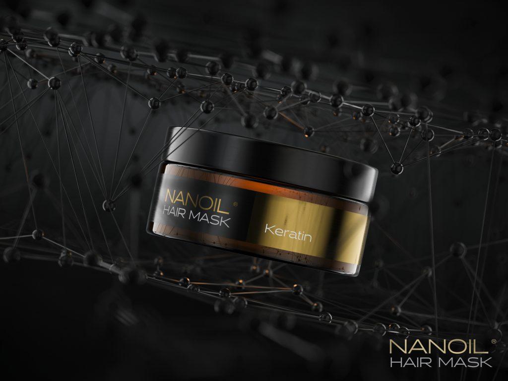 Nanoil keratin hajmaszkok